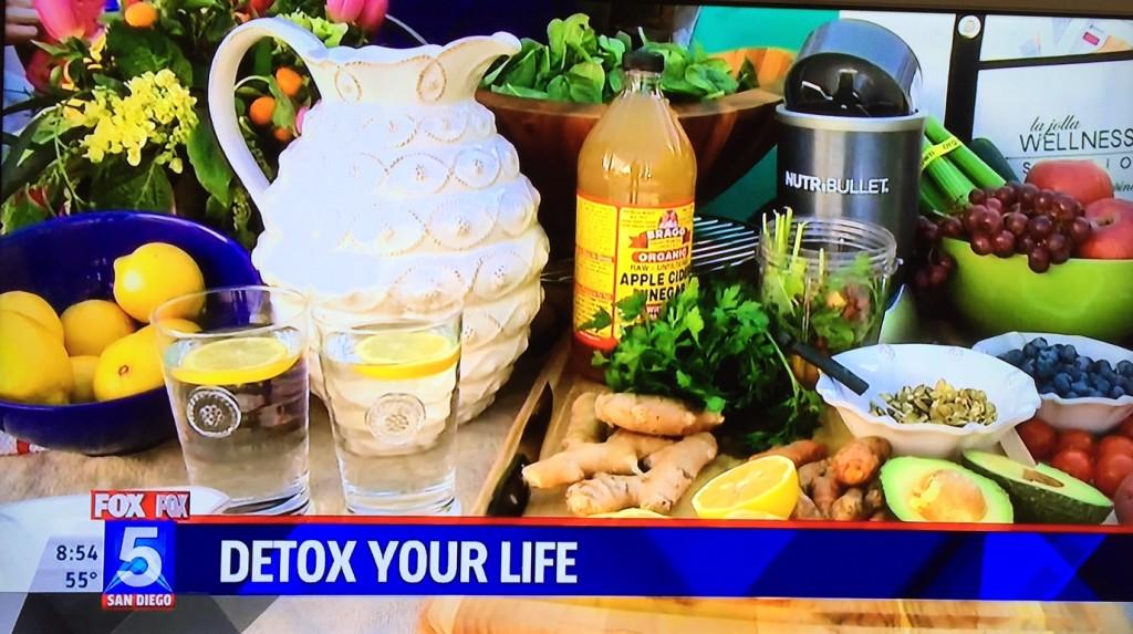detox lifestyle - lemon water - nubry fox 5 san diego