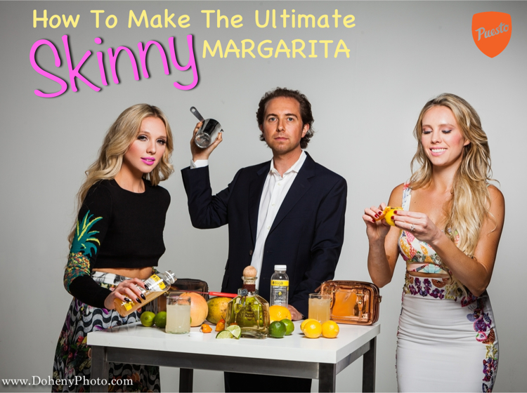 how to make a skinny healthy margarita