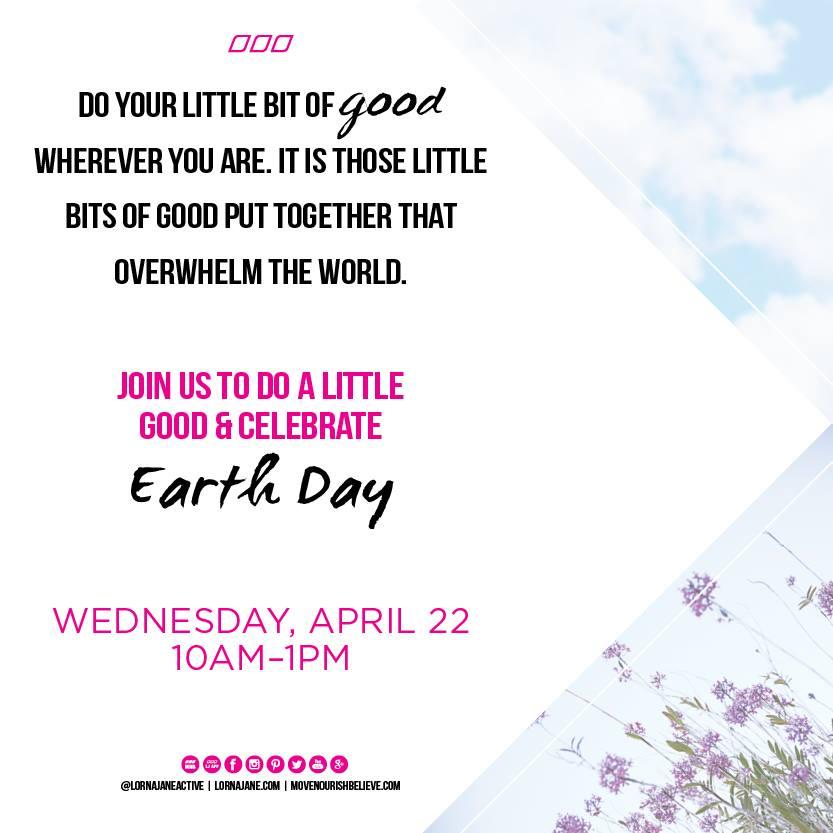 lorna jane la jolla - earth day 2015 event