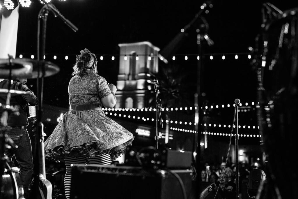 Grammy Award Winner, La Santa Cecilia, performs at Cincoteca 2015.