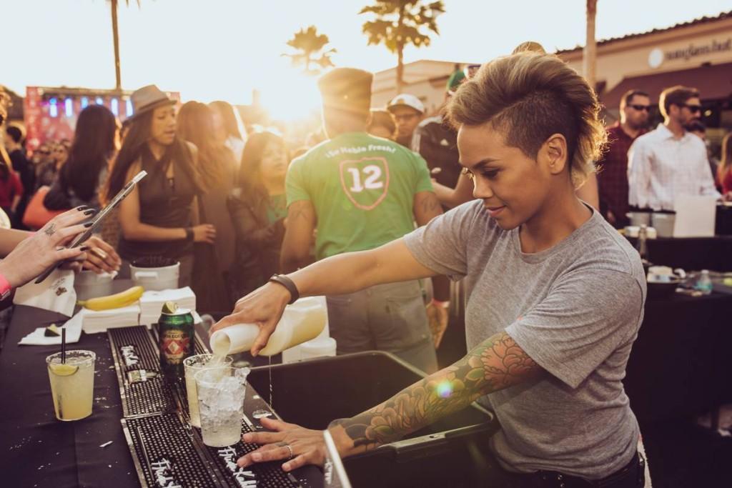 cincoteca 2015 party - puesto margaritas and bar