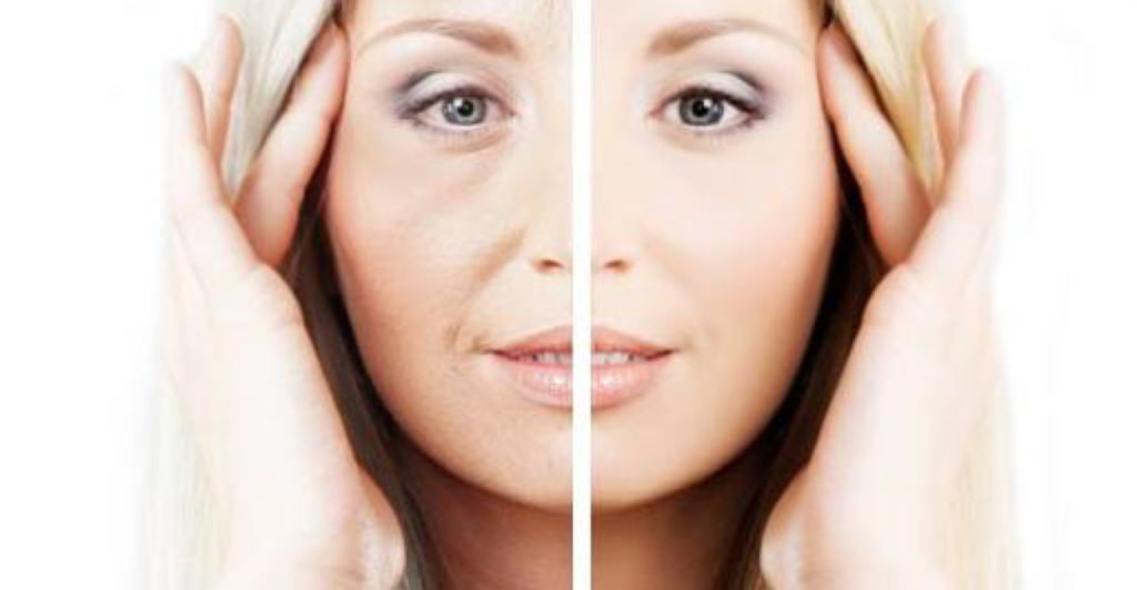 healthy skin vs old skin