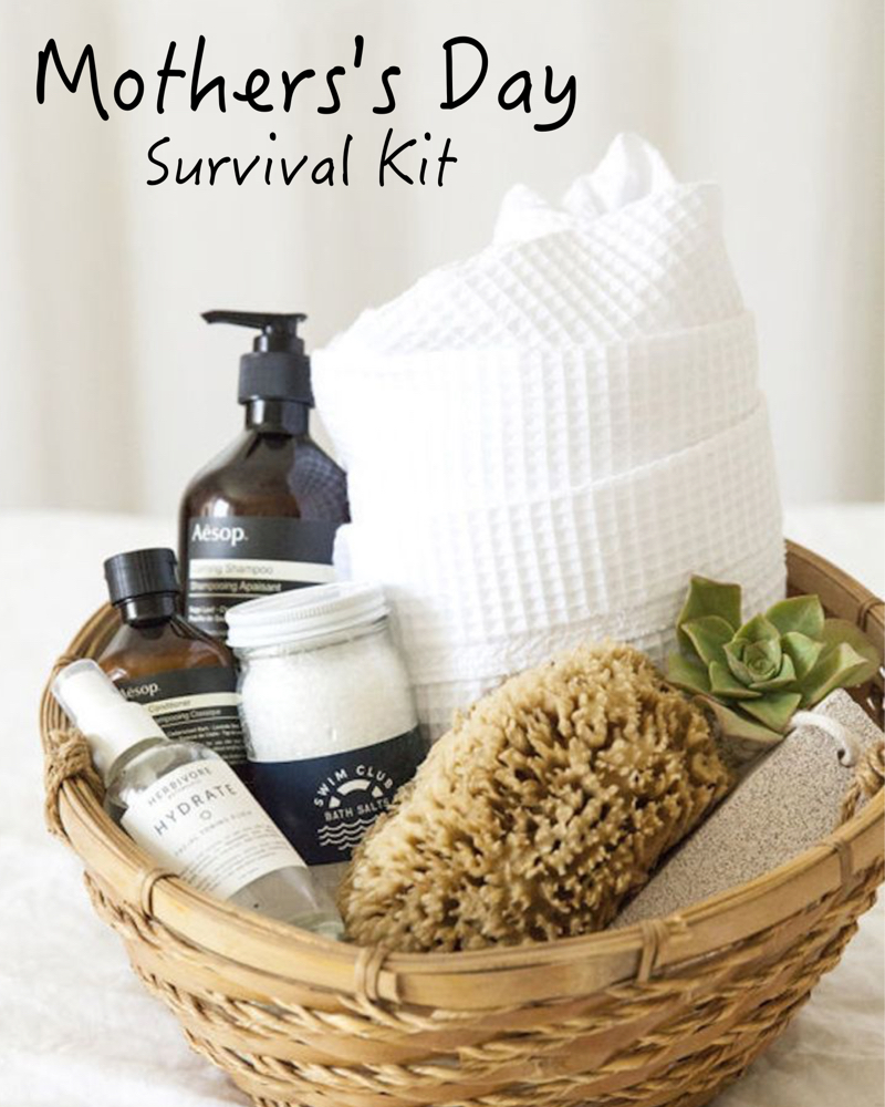 mother's day survival kit - gift ideas