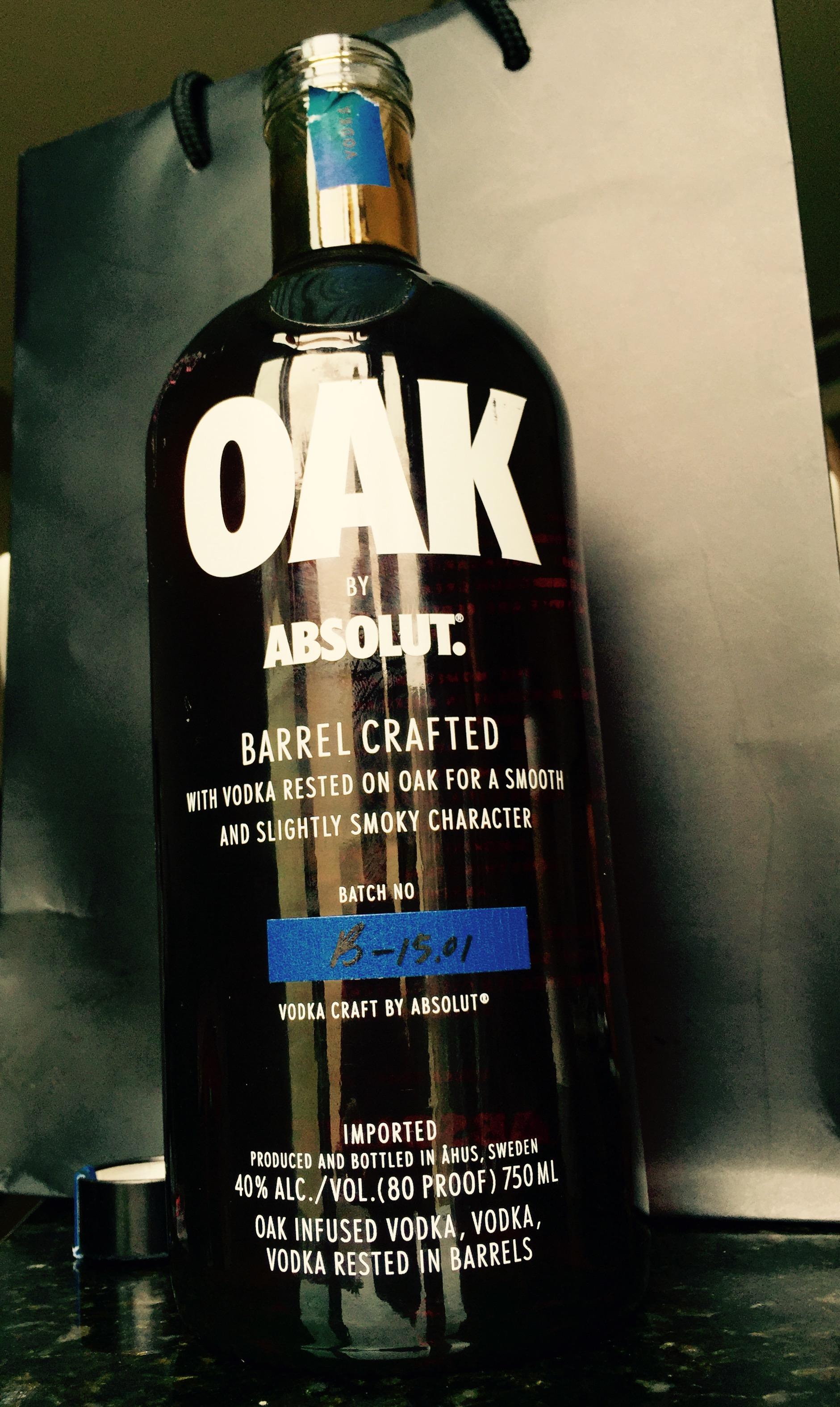 oak by absolut vodka - san diego launch