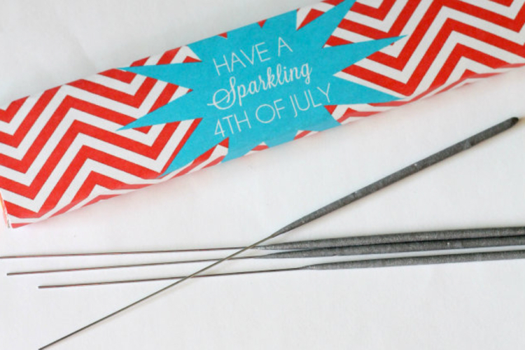 star sparklers - july 4th diy