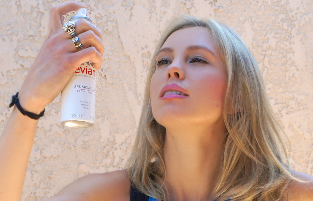 Evian facial spray - hydration on the go