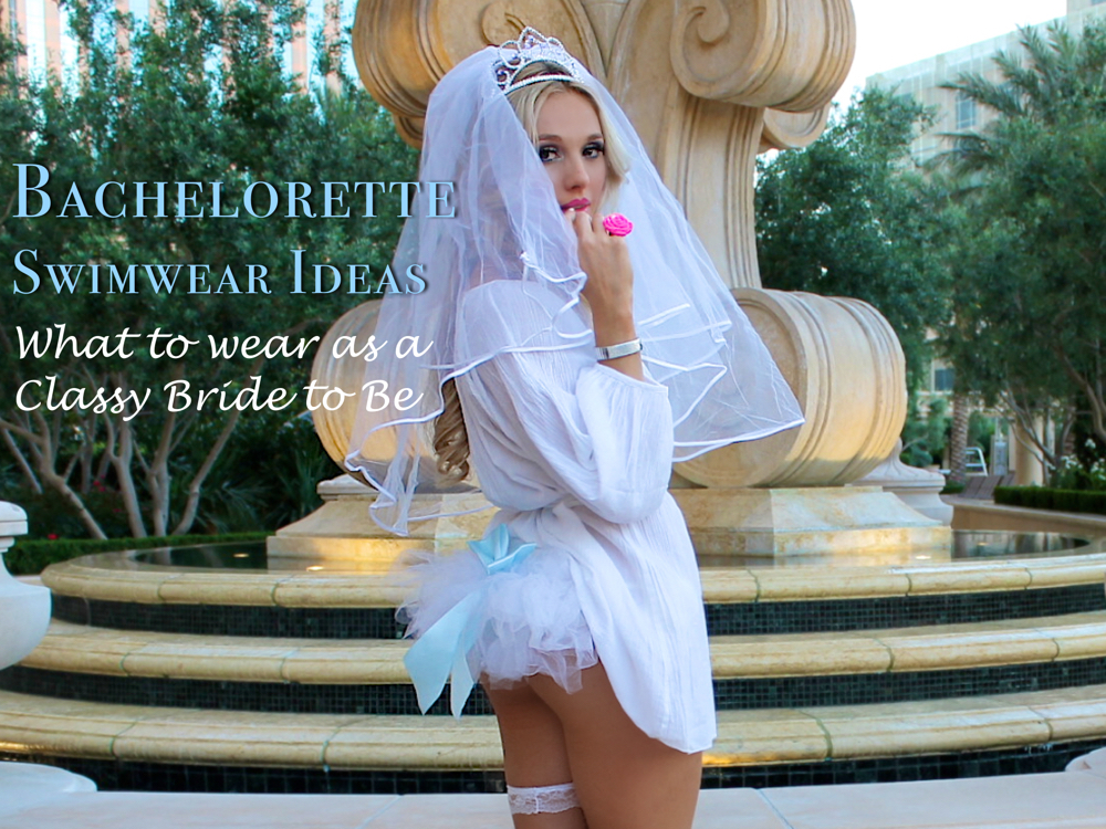 bachelorette bikini ideas - classy las vegas swimwear