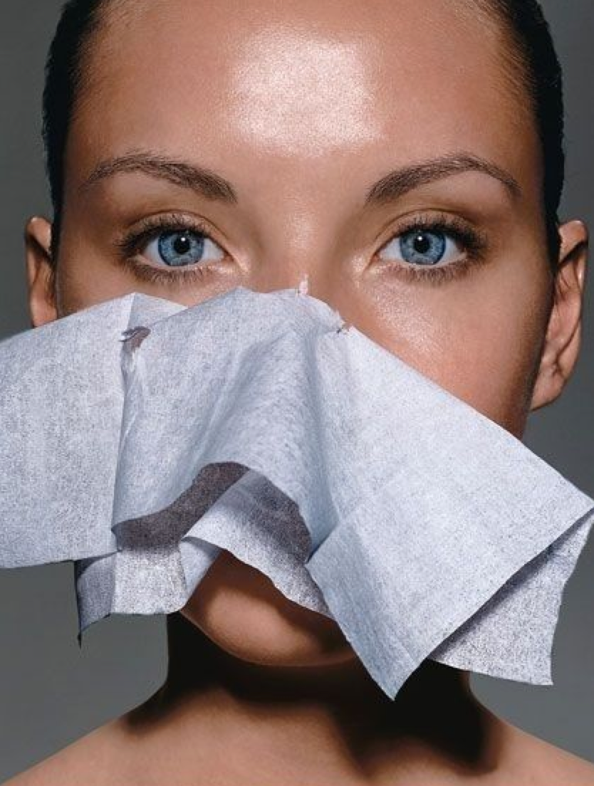 blotting sheets for oily skin at track