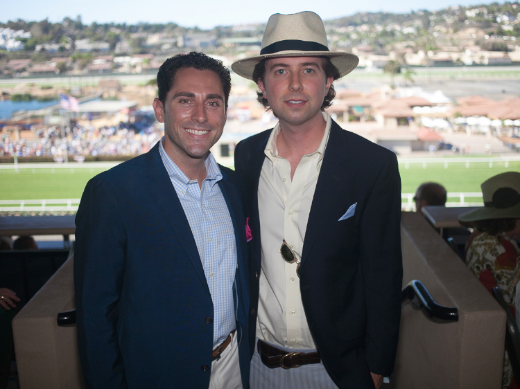 mens hats opening day del mar race track
