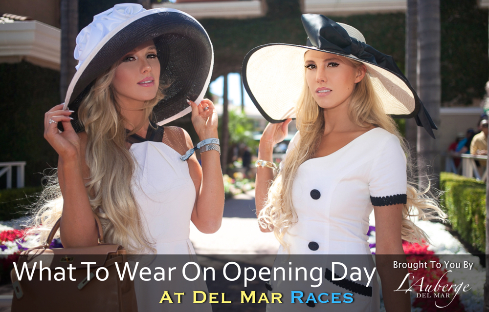 what to wear opening day del mar races