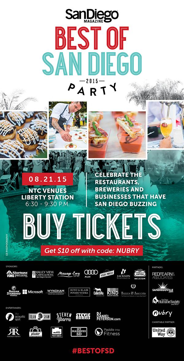 San Diego Magazine's Best of SD 2015
