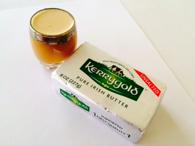 bulletproof coffee with grass fed butter