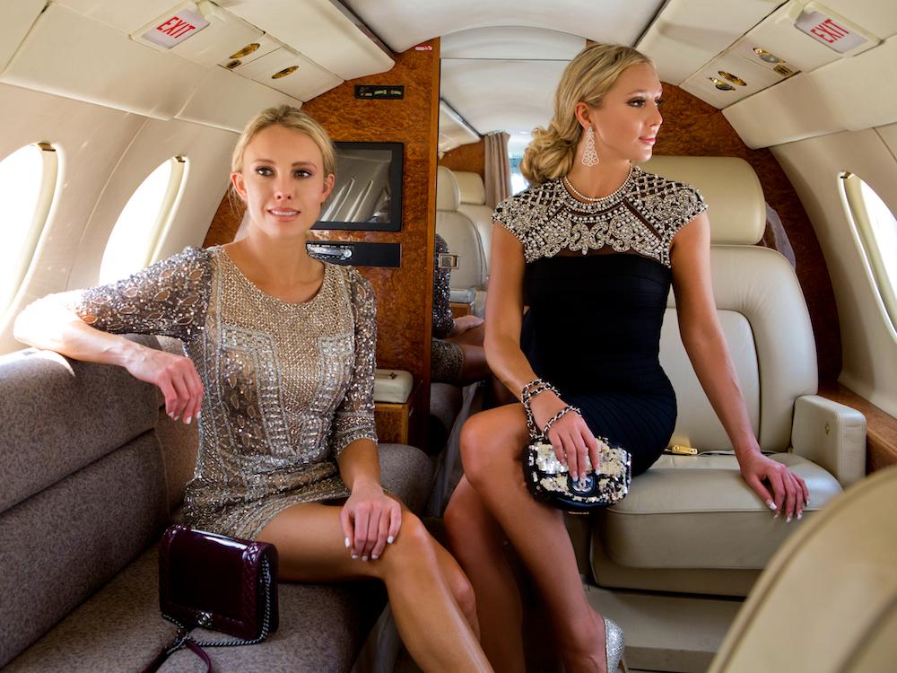 fly private jet - nubry