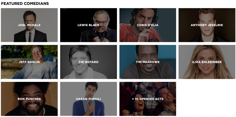 KAABOO Comedians 2015