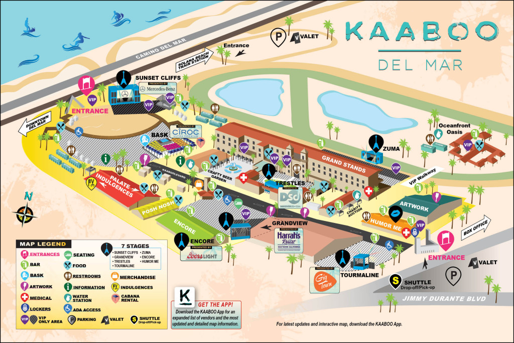 Kaaboo map del mar