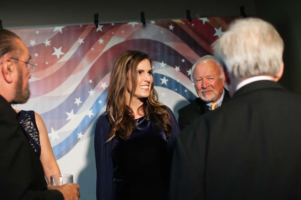 Taya Kyle at Solutions For Change Gala