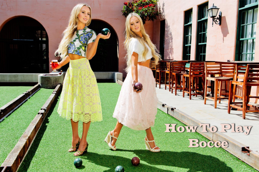 how to play bocce - outdoor party games