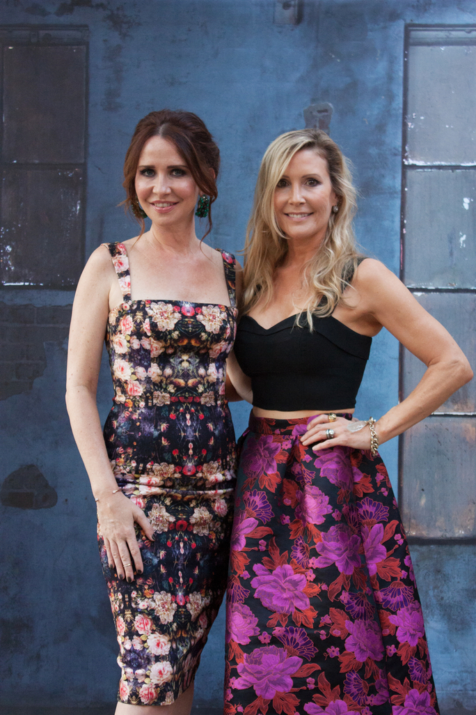 janie bryant and laurel berman wearing Janie Bryant for black halo collection