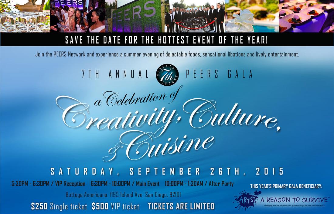 peers gala 2015 invitation