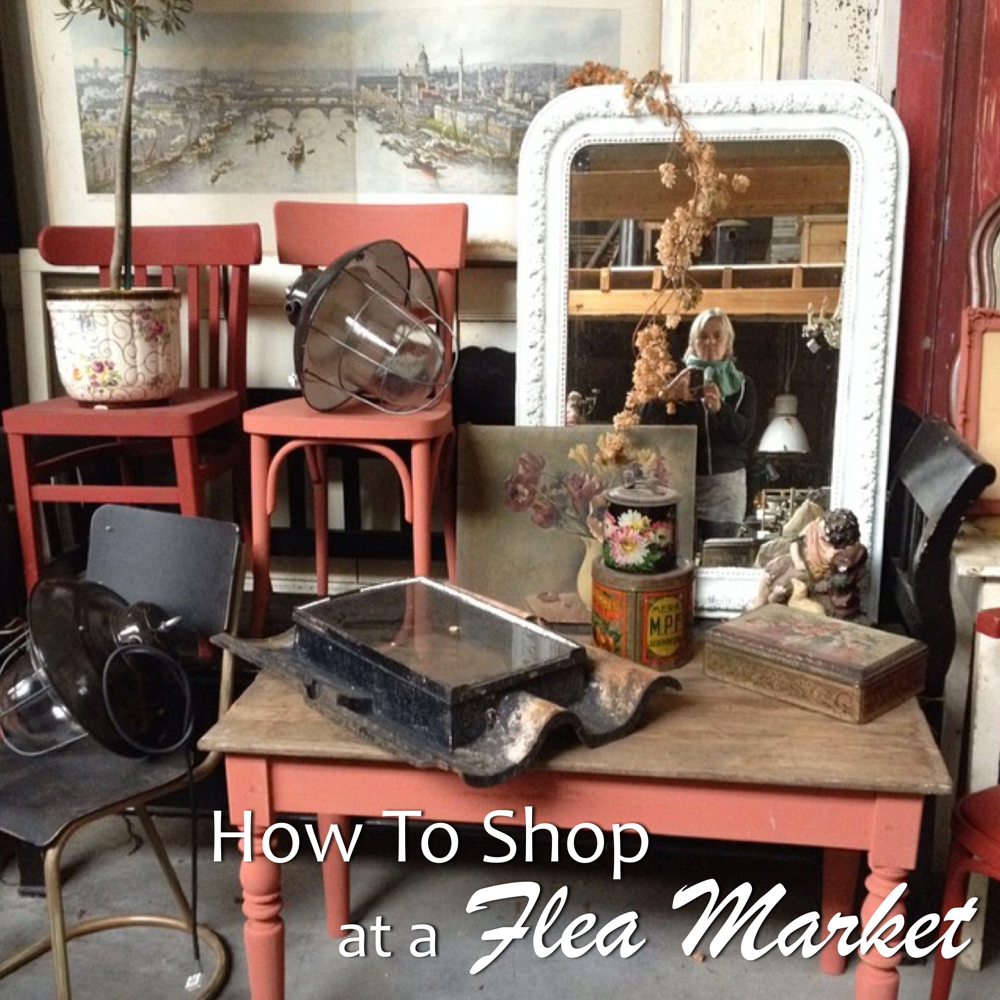 how to shop flea market