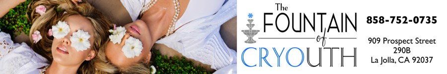 Fountain of Cryouth - Cryotherapy Facial - CryoFacial La Jolla  - Ad