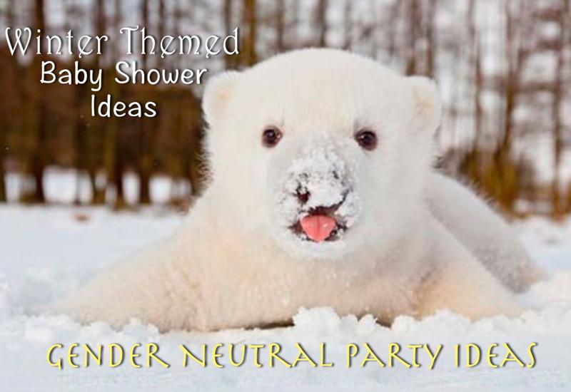 winter baby shower ideas - gender neutral