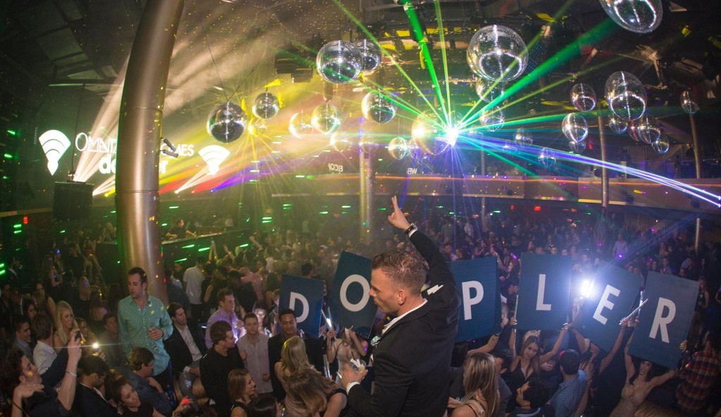 launch party at omnia nightclub