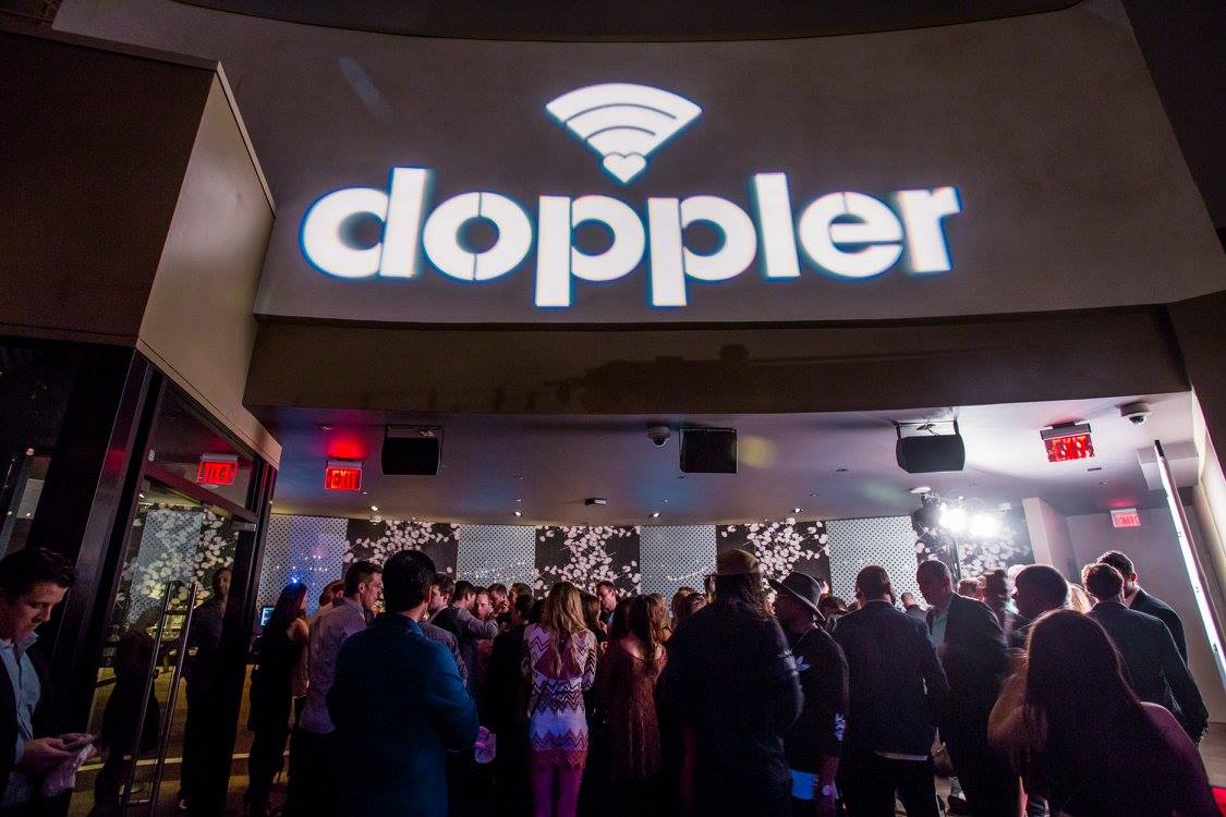 doppler launch party