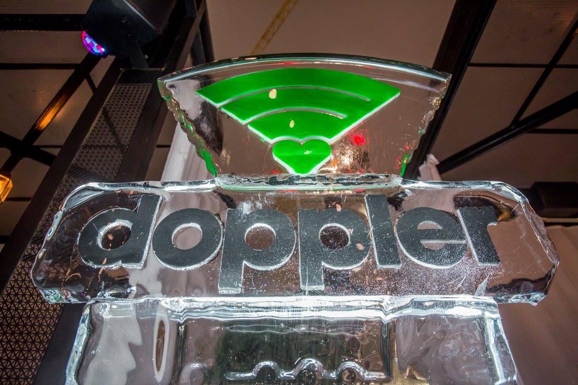 doppler custom ice luge