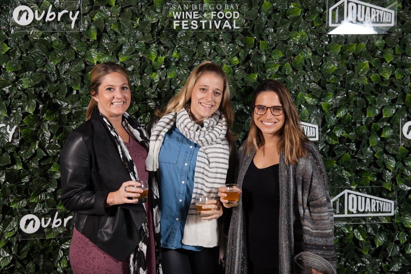 San diego bay wine festival nubry taco tko quartyard2