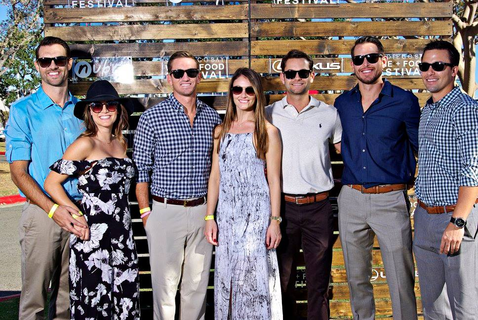 young professionals go to San Diego Wine and Food Festival