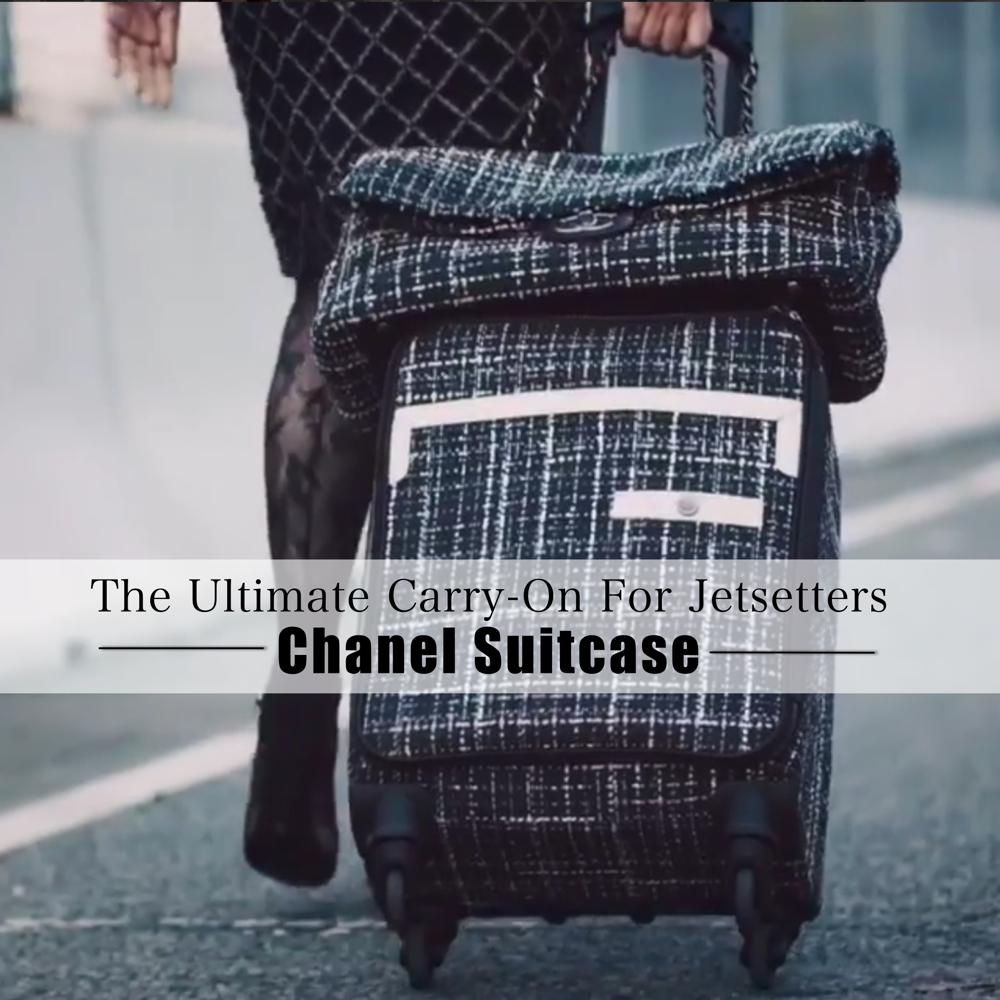 Chanel Suitcase Spring 2016