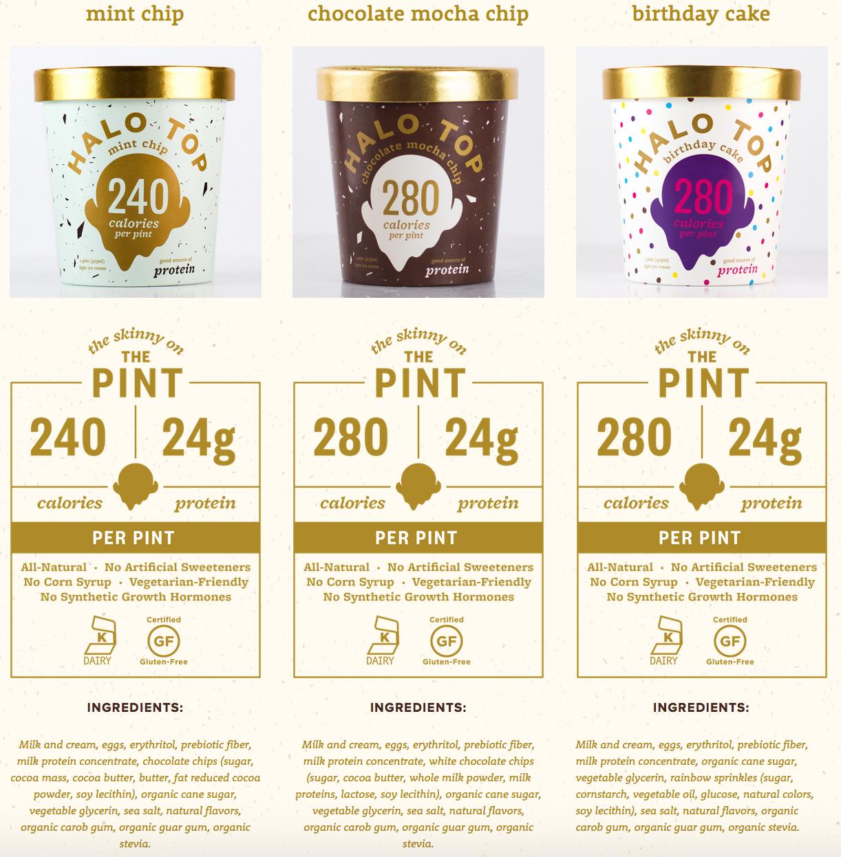 halo top healthy ice cream flavors 2