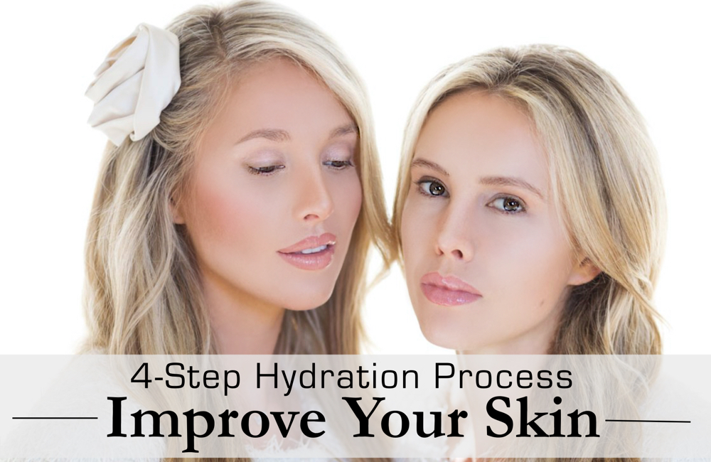 improve your skin - beauty tips and hydration process