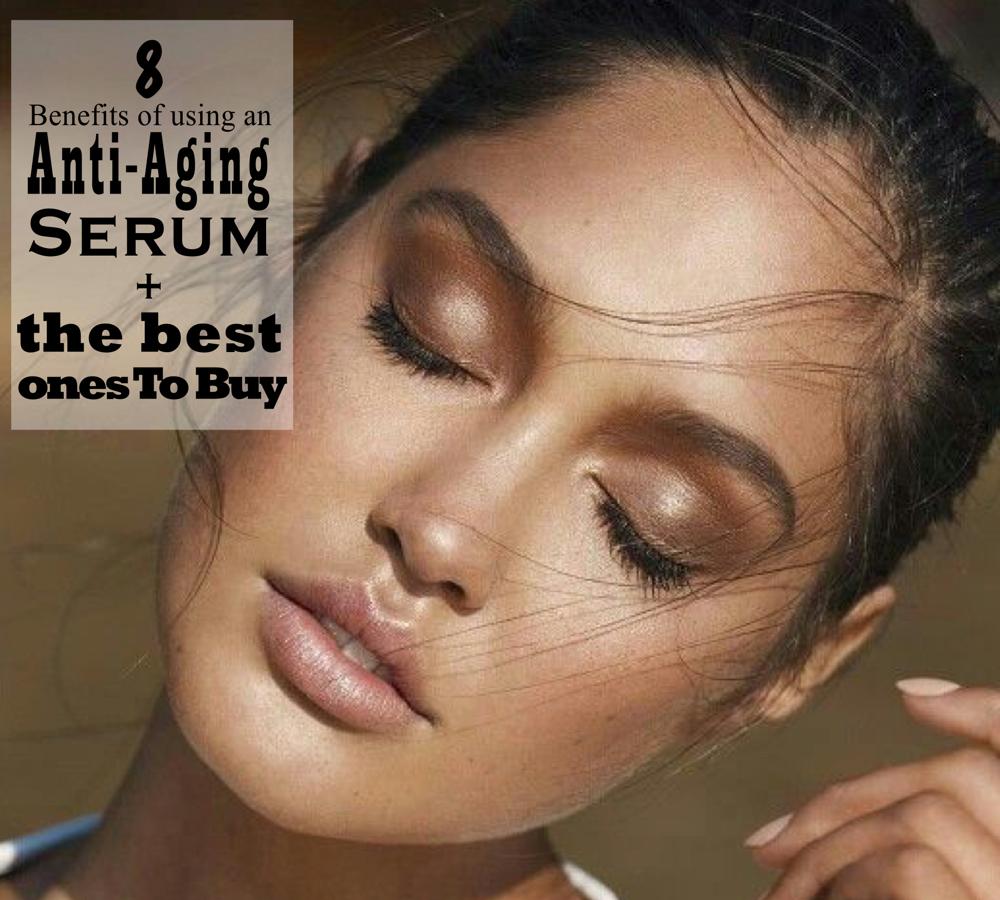 anti-aging serum benefits - youthful skin