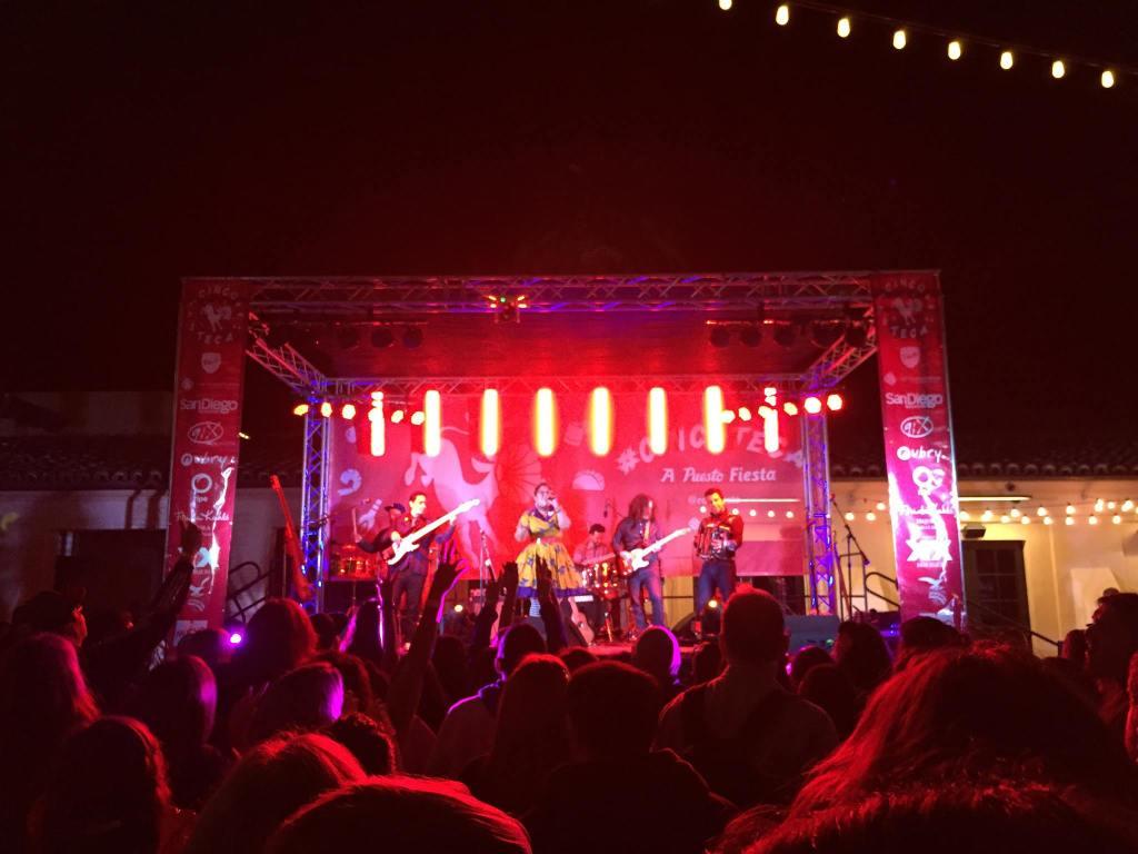 cinco de mayo concert with headliner Nortec Collective