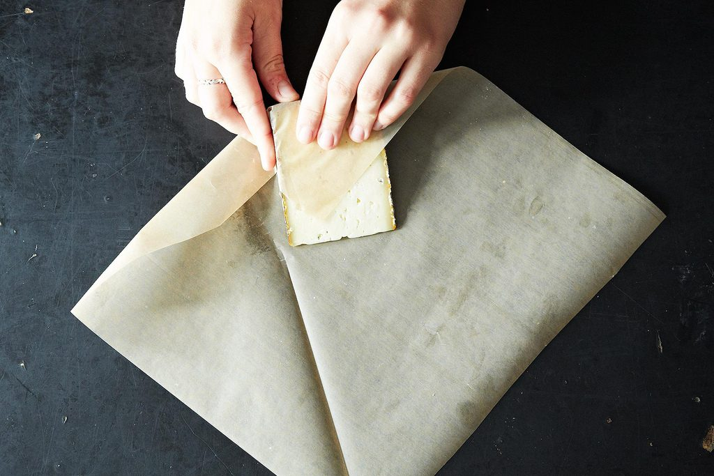 how to store cheese in wax paper