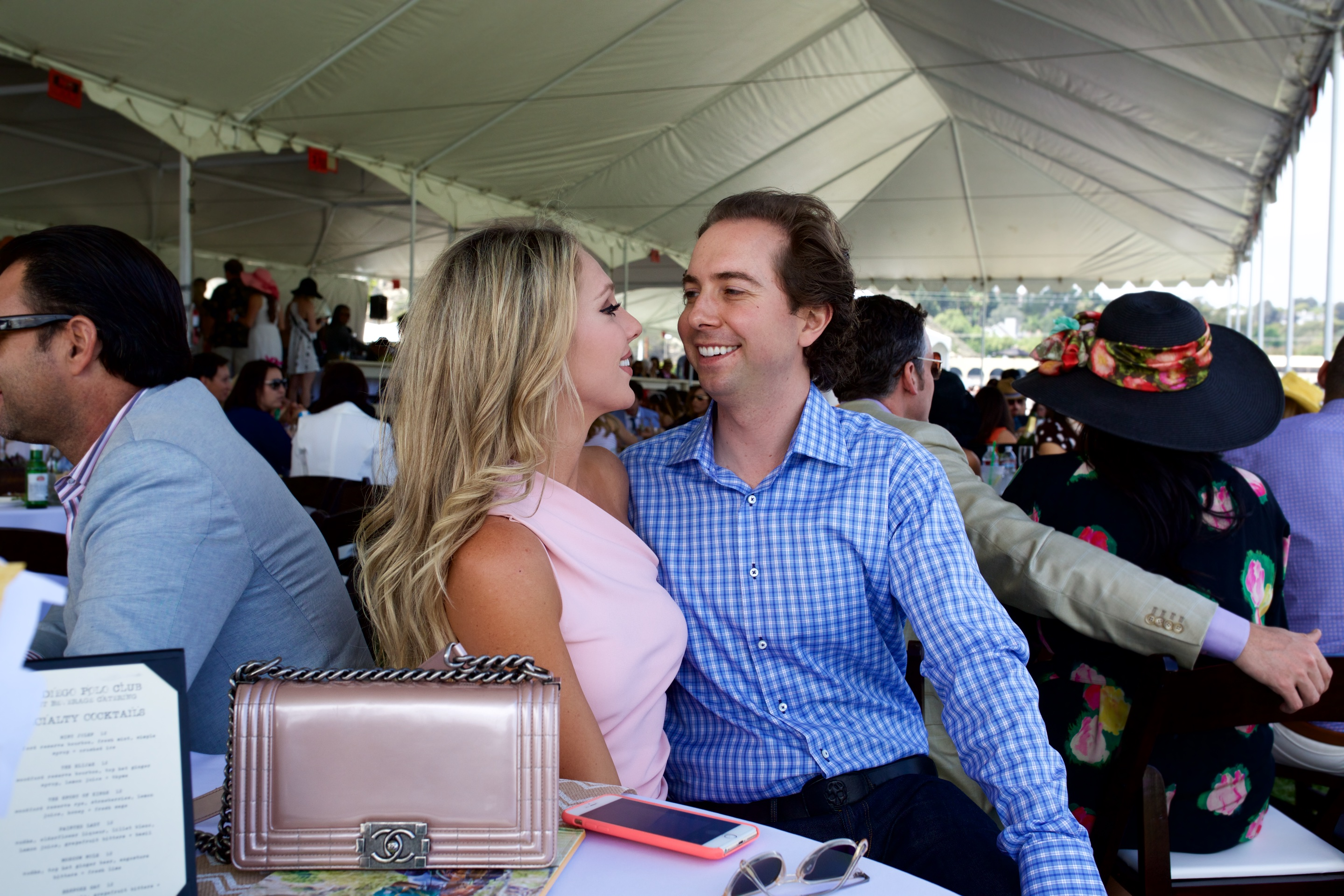 opening Day Polo - eric adler and gretchen hackmann adler