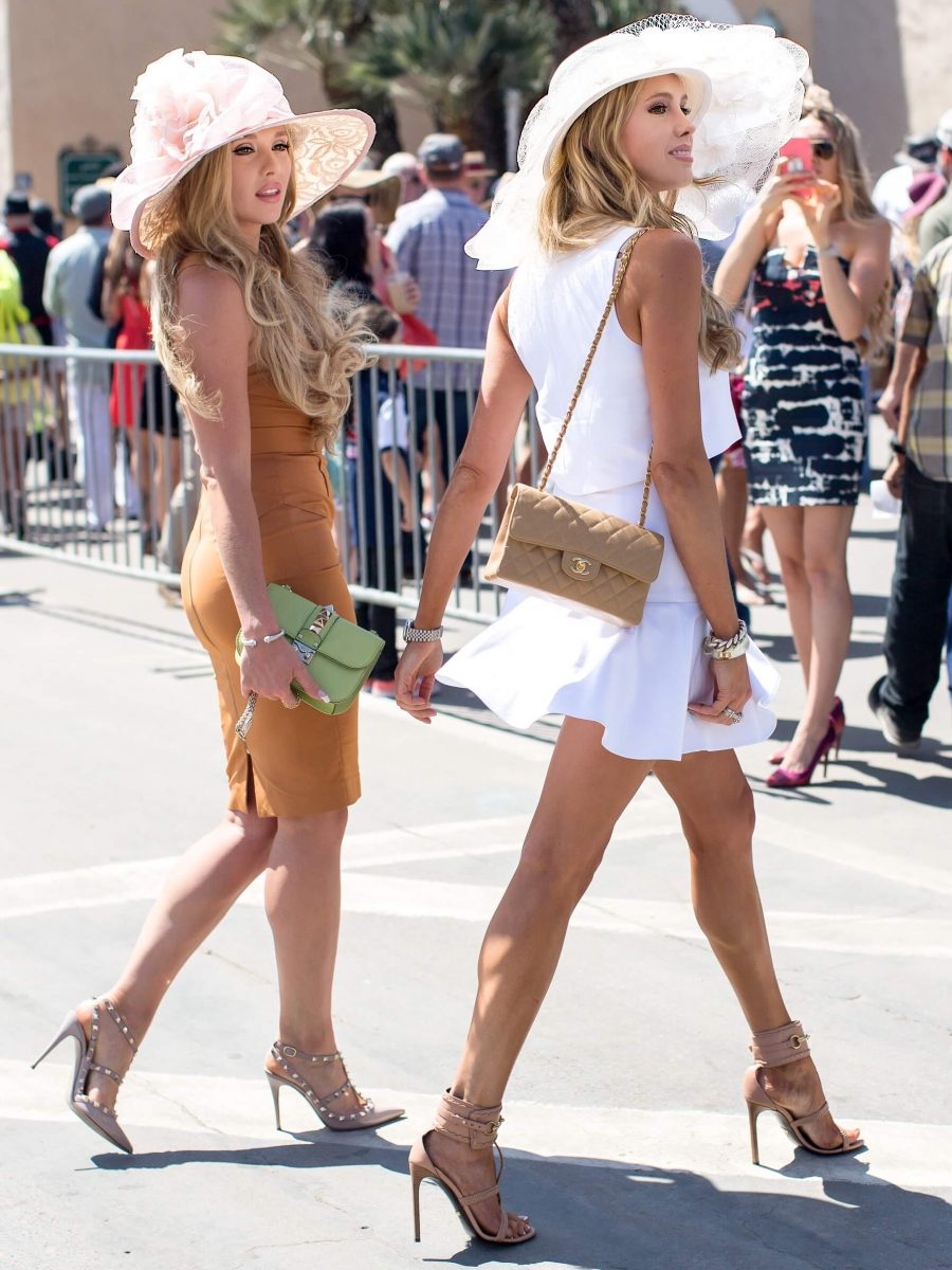 womens style opening day at del mar race track