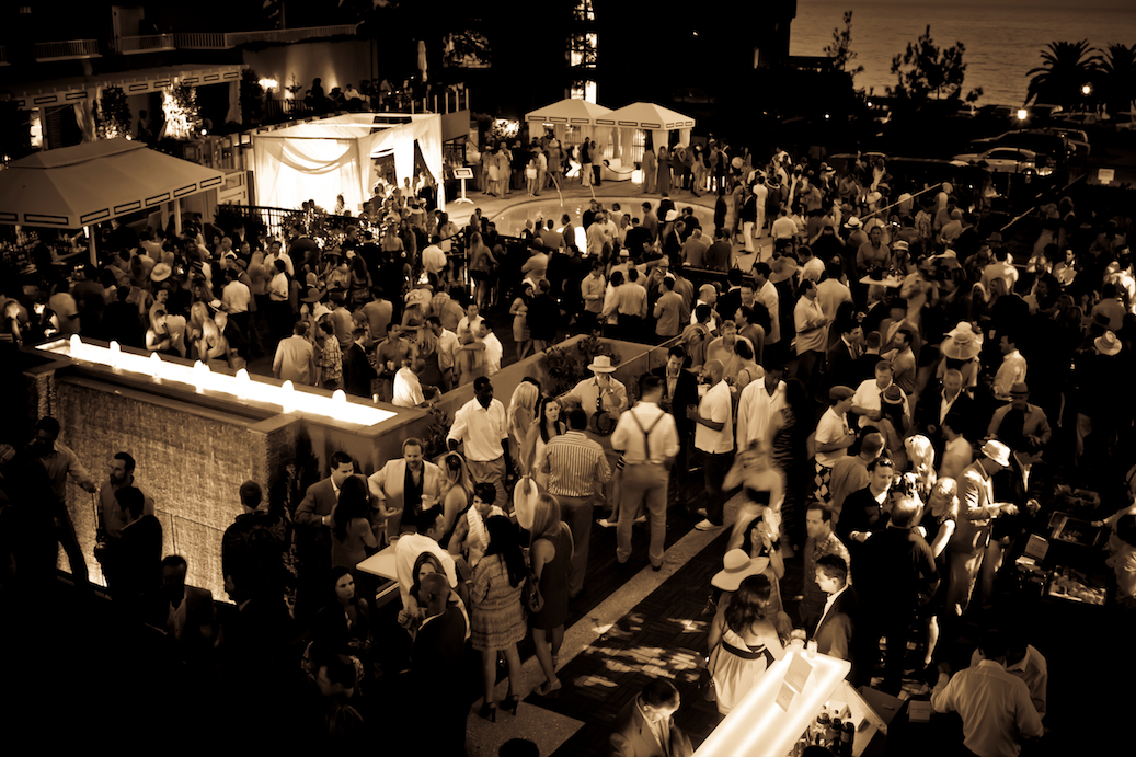 lauberge del mar opening day after-party 2016