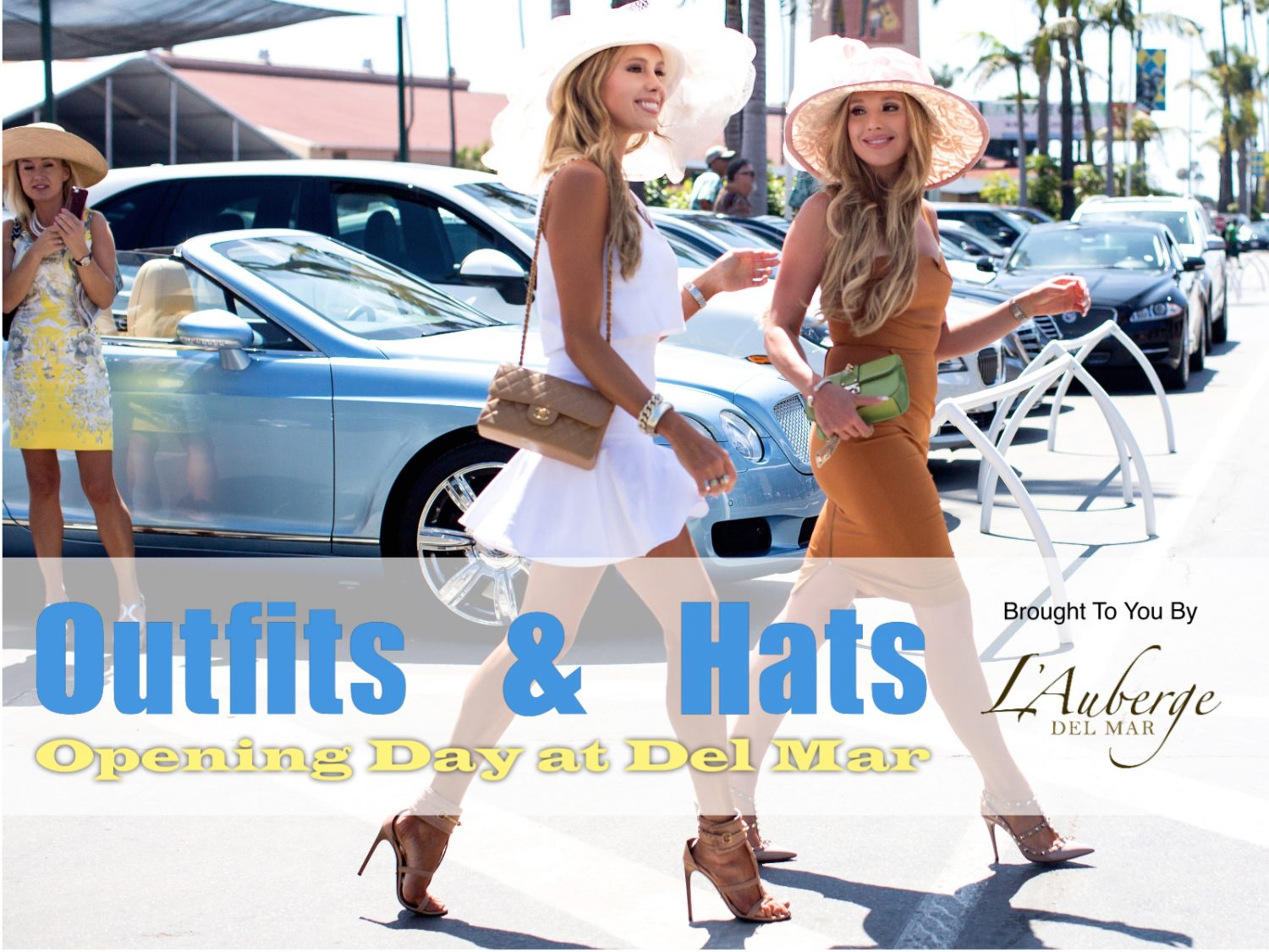 what to wear opening day at del mar - hats and outfits - style