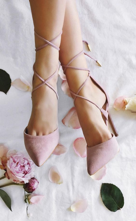 lace-up heels - summer shoe styles for women