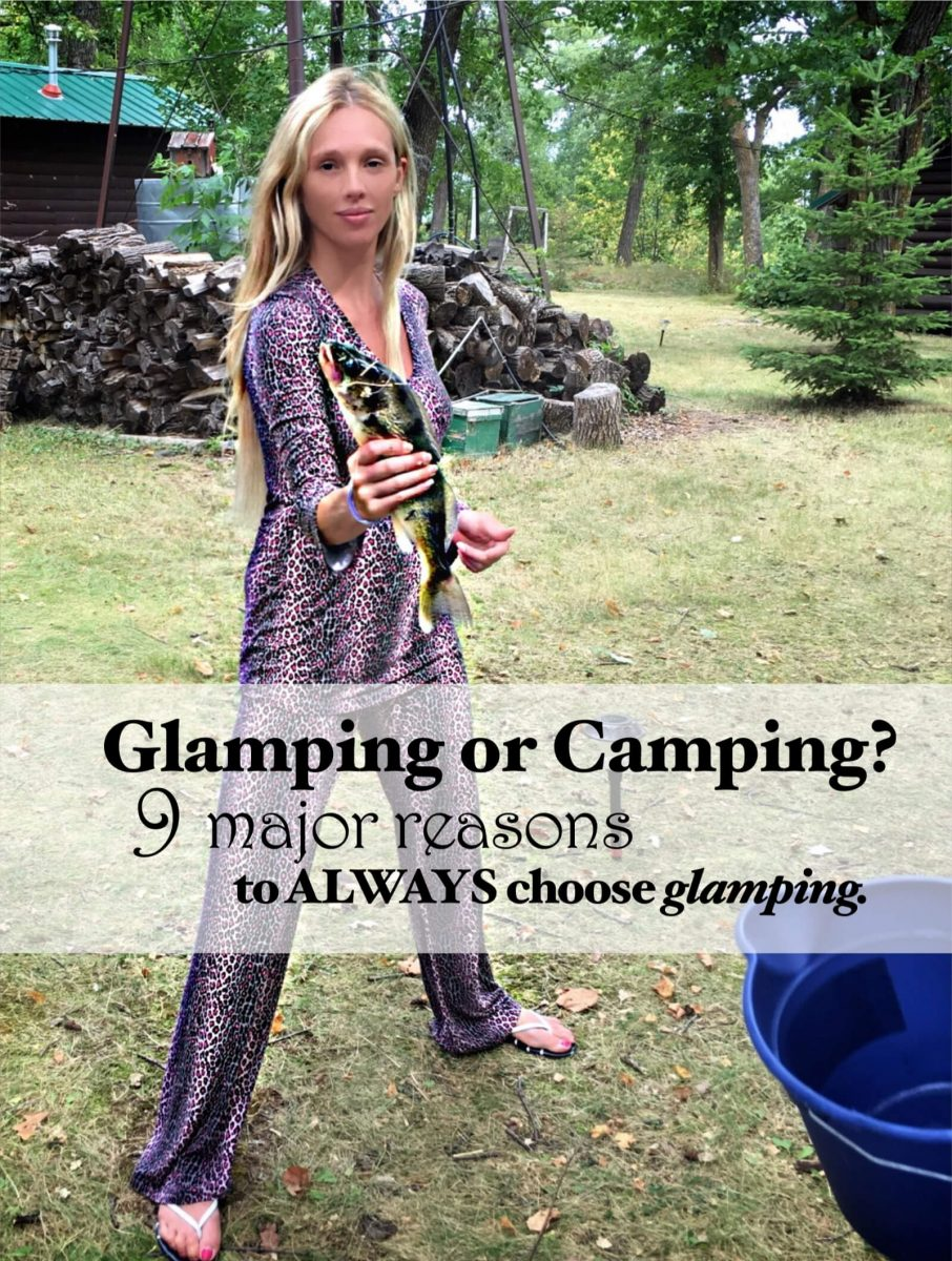 9 reasons to go glamping - glamping or camping_