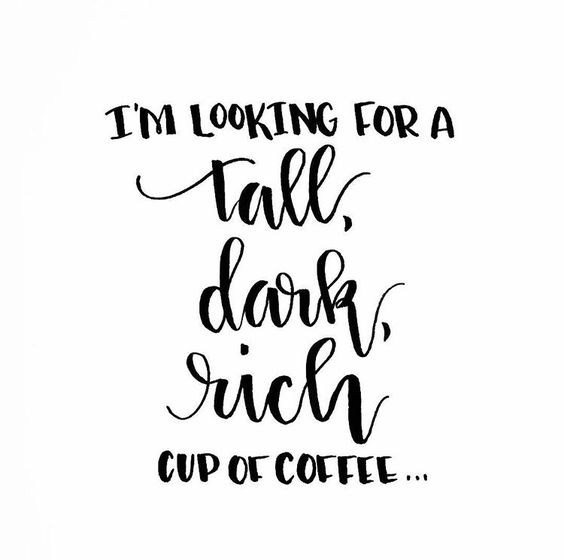 drinking black coffee quote