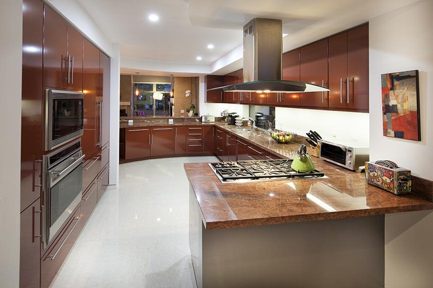 Windasea home has luxury kitchen with Wolf and Subzero appliances