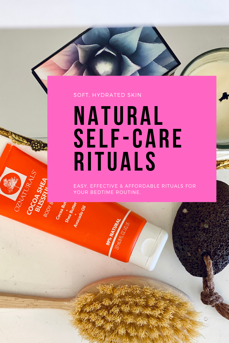 Natural Self-Care Rituals for fall/winter